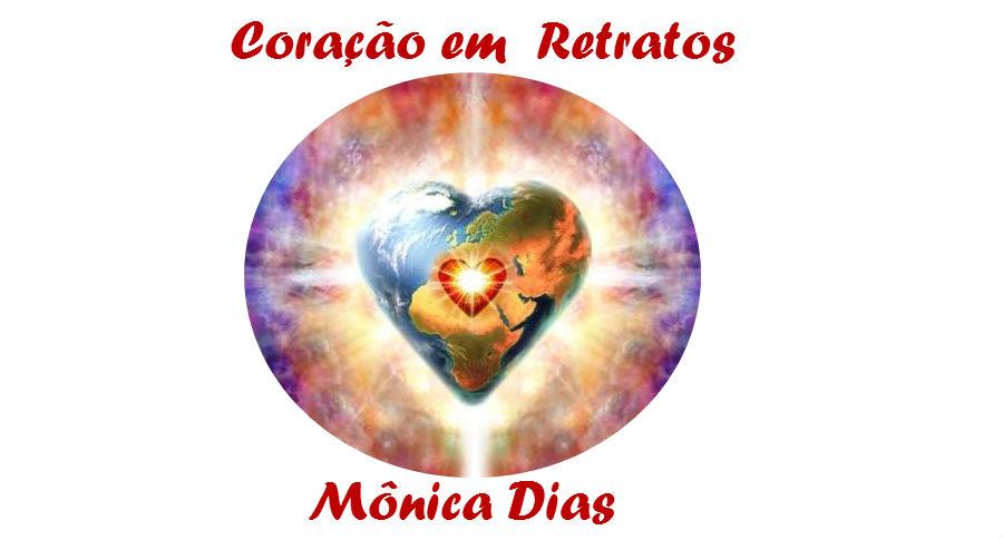 Coração em Retratos por Mônica Dias