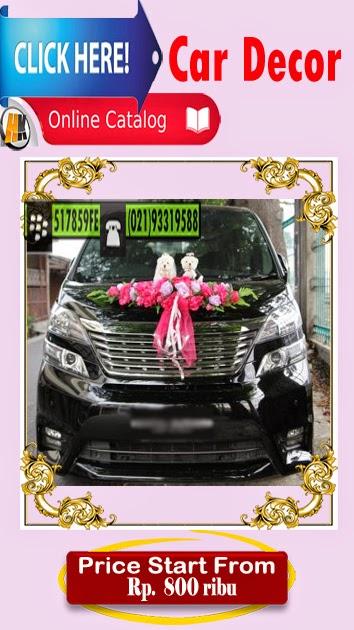 Car Wedding Decor Mobil pengantin