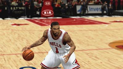 NBA 2K13 Derrick Rose Returns Playoffs Update