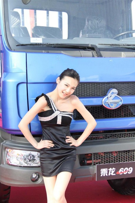 china trucks, model sexy girls, auto show china