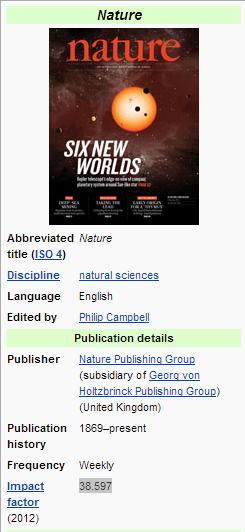 nature wikipedia article