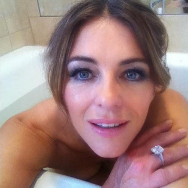 Liz Hurley naked