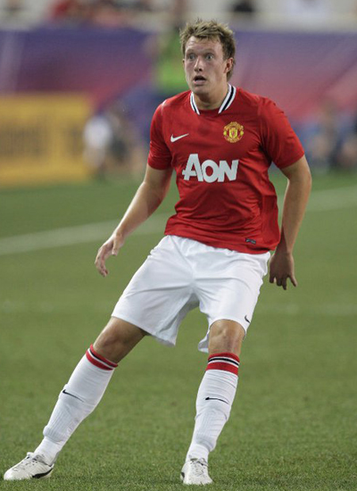 Phil Jones Defender Man Utd Tour USA