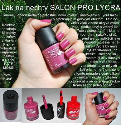 RIMMEL SALON PRO lak