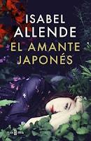 Ranking mensual. Número 4: El Amante japonés, de Isabel Allende.