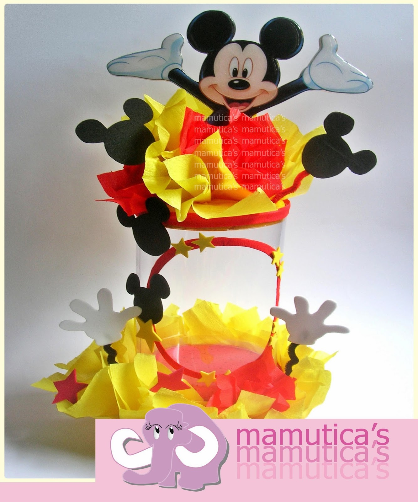 Mamutica's: Dispensadores de chucherías .... Mickey Mouse