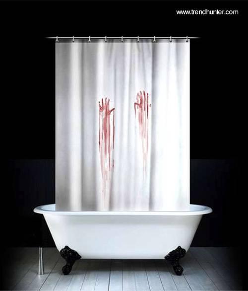 Arquitectura de Casas: Cortinas de baño con diseños impactantes.