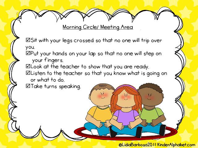 Pulquerio Cheri Classroom Rule Routines