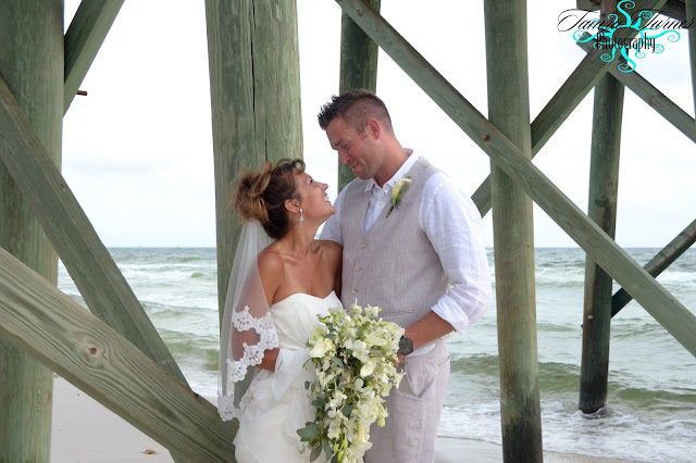 beach wedding packages and photography St. Andrew's State Park
