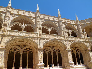 Monastery of Jeronimos in Belem, Lisbon.
