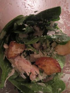 Sweet & Savory: Chicken Caesar Salad Shakers