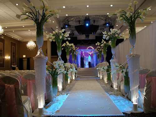 Elegant Wedding Ceremony Decorations : Best wedding decorations exotic crystal ceremony