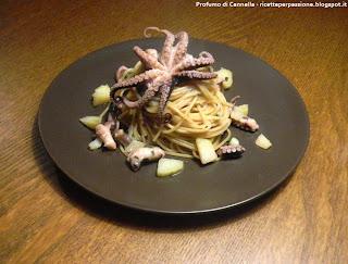 spaghetti con polpo e patate - la tradizione si rinnova