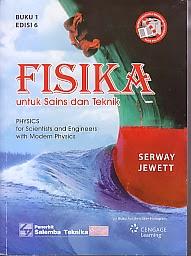 toko buku rahma: buku FISIKA UNTUK SAINS DAN TEKNIK BUKU 1, pengarang serway jewett, penerbit salemba empat