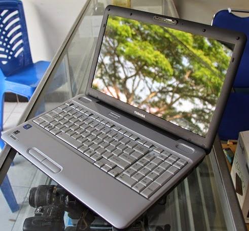harga laptop bekas toshiba l505