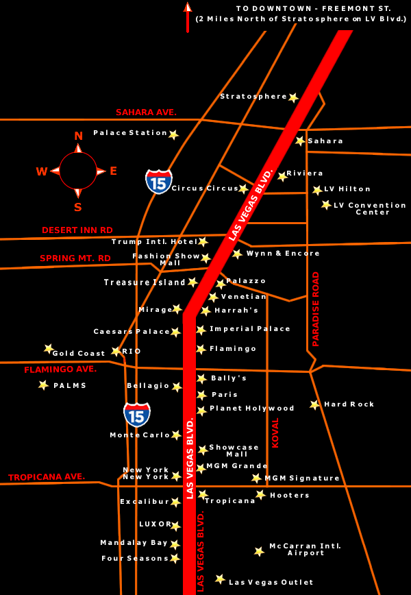 map of las vegas strip hotels. map of las vegas strip hotels