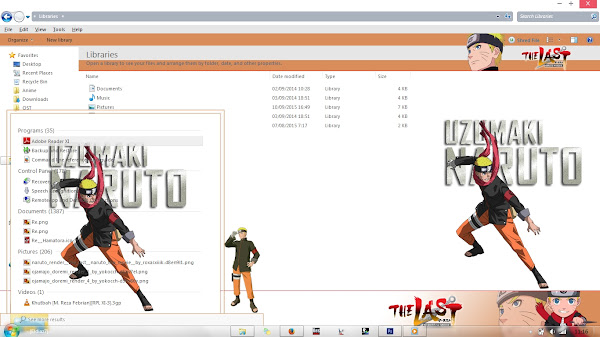 [Theme Win 7] Naruto The Last Movie – Naruto x Hinata by Eldiaz7 4
