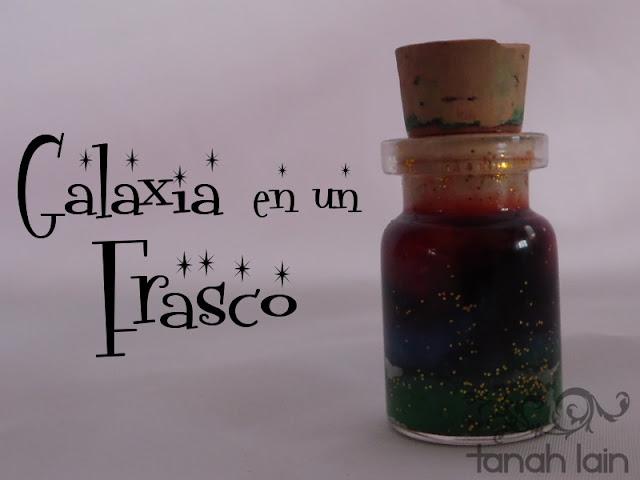Galaxia en un frasco