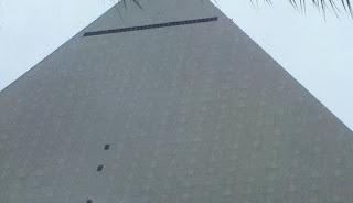 Luxor hotel, pyramid Vegas