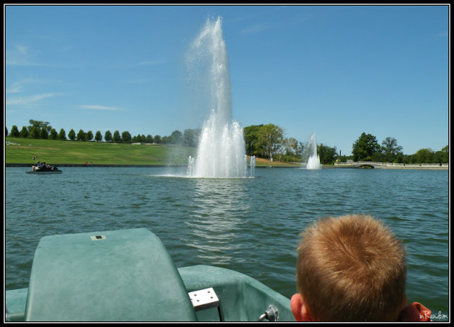 Fountain on Art Hill