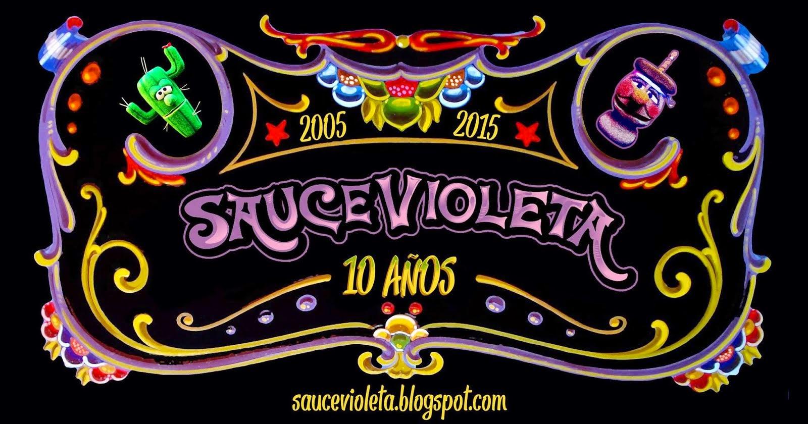 Sauce Violeta Titeres