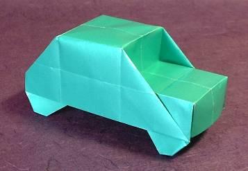 Origami Car Uchiyama 3DHow To Make
