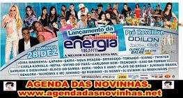 ODILON CLUB BREGA MUSIC - LANÇAMENTO DA RÁDIO ENERGIA FM.