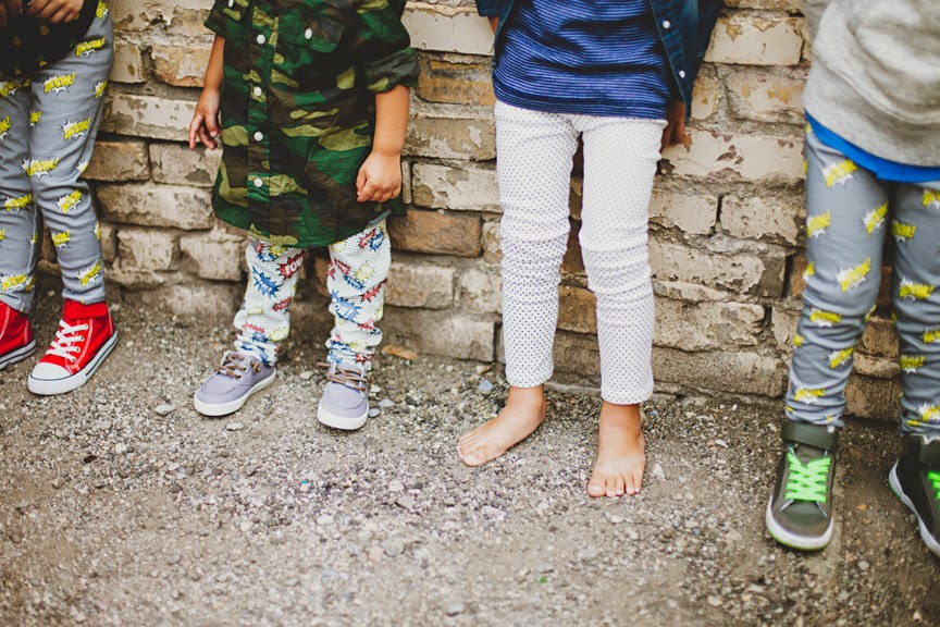 Cool leggings for babies by LOT801 - organic baby clothes