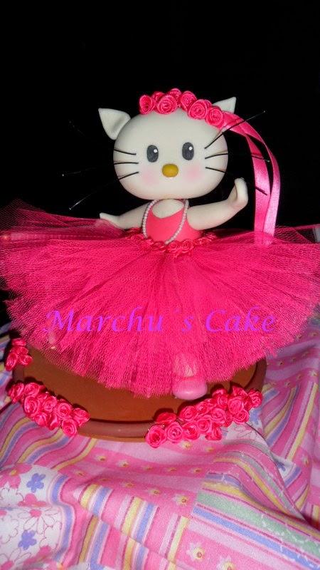 """Marchu´s Cake """"Kittie bailarina"""""""