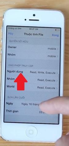 Thủ thuật chặn thông báo cập nhật trên iPhone 6 Lock Nhật - 84134