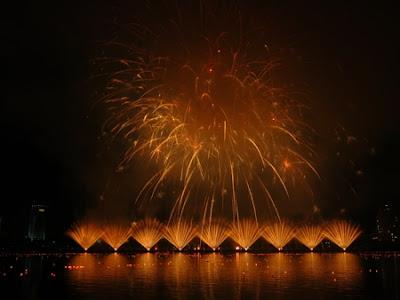 Opening Night of Da Nang Fireworks Festival 2013