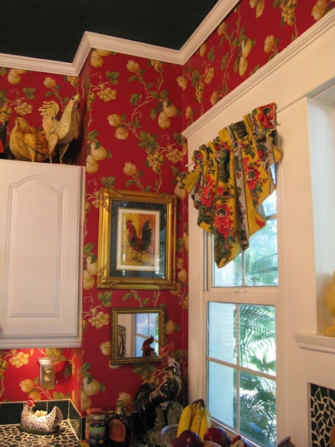 Eye For Design Decorating With Roosters For A French Country Look