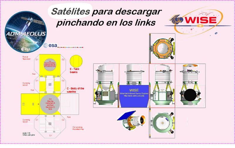 Satelites imprimibles
