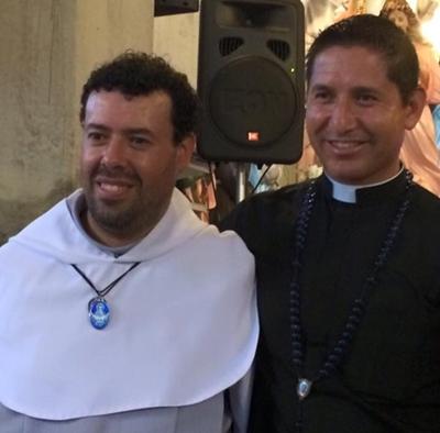 Padre Ruben no Santuário das Aparições de Jacareí