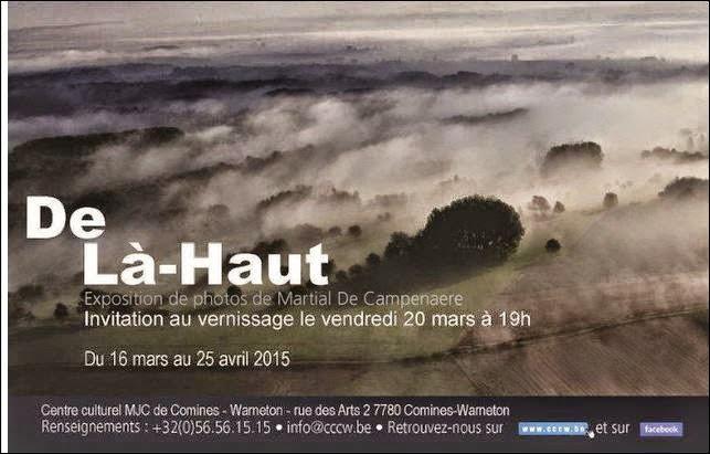 16 au 25 avril exposition DE LA HAUT