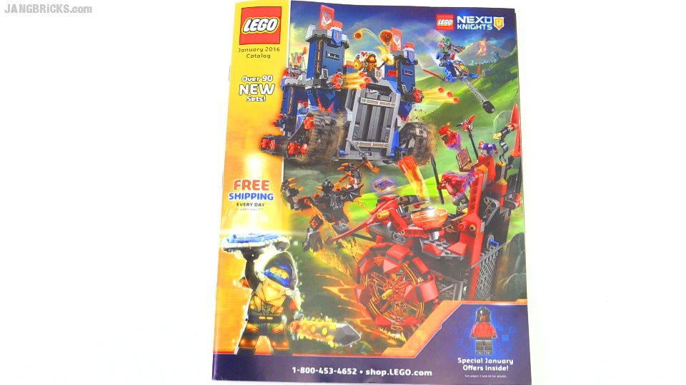 A look through the LEGO US January 2016 catalog