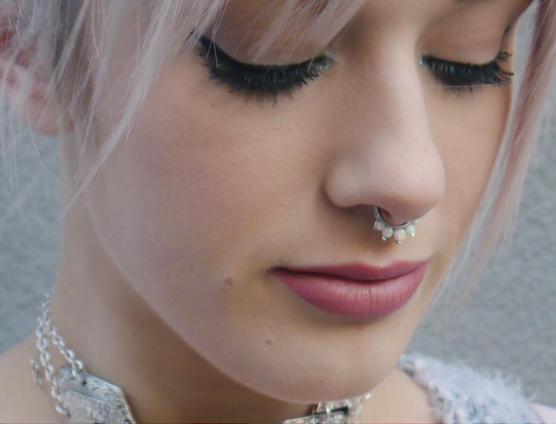 Opal Septum Ring Ellen Atlanta