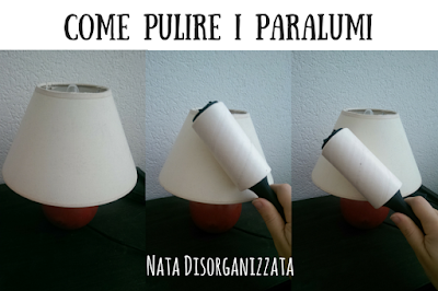 pulizia lampade