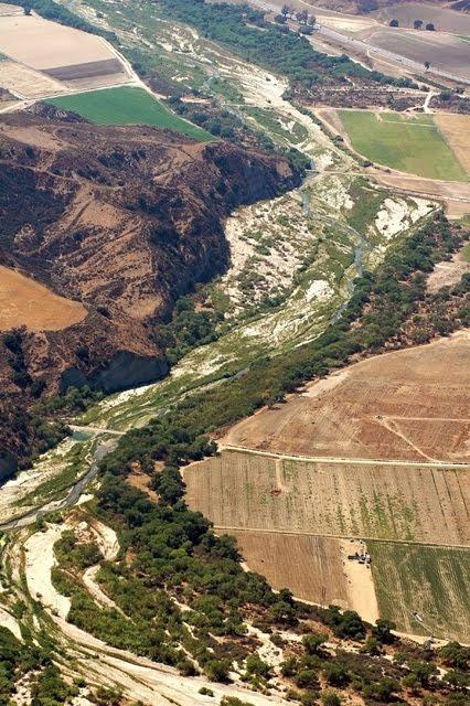 Santa Clara River Aerial 2