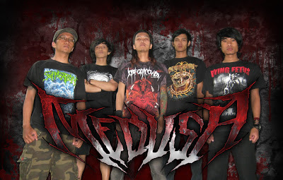 Medusa Band Death Metal Bandung Foto Personil Logo Artwork Wallpaper
