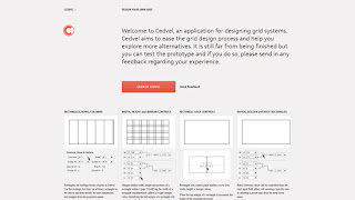 Cedvel, design grid systems