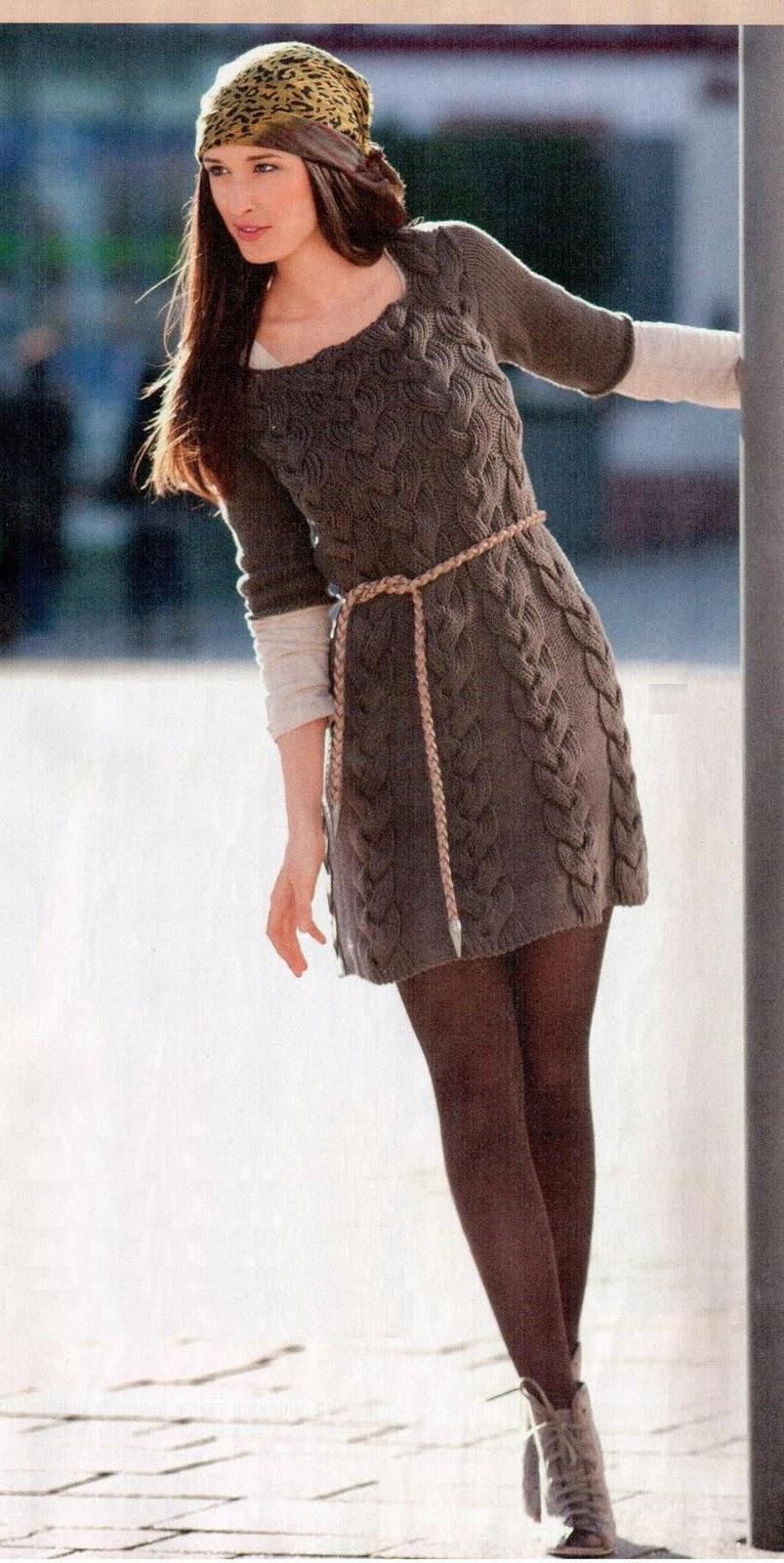Мини-платье с косами.  Прочитать целикомВ.