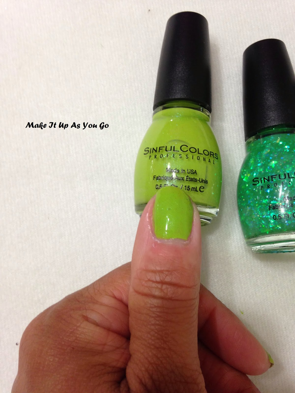 Make It Up As You Go: St. Patrick\'s Day Nails