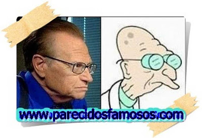 Larry King con Professor Farnsworth