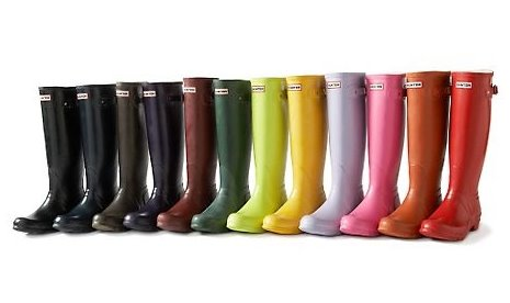 Image result for hunter boots colors