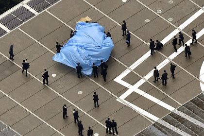 Kirim Drone Ber-Radioaktif ke rumah PM Abe Tanda Protes nuklir