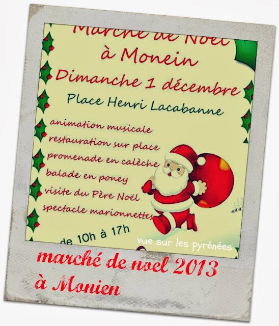 marché de noel 2013 à Monien