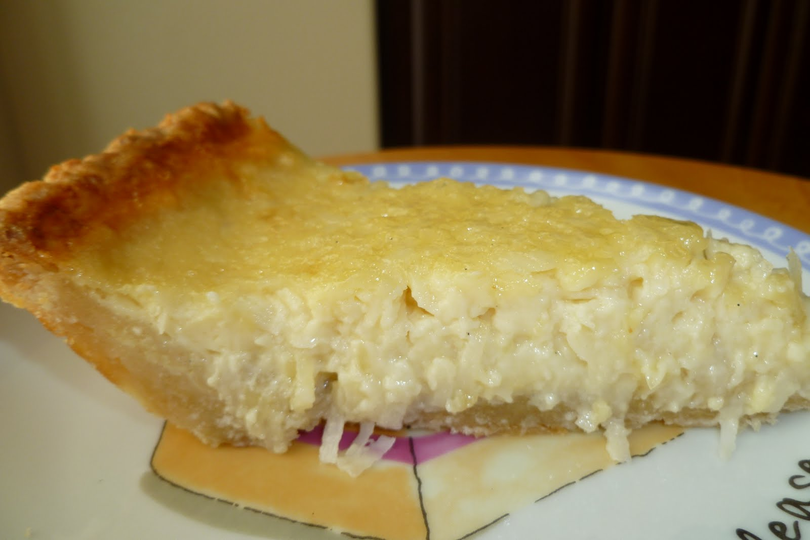 The Pastry Chef's Baking: Flaky Pie Crust & Coconut Custard Pie