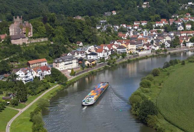 Neckarsteinach - Die Vierburgenstadt, Germany