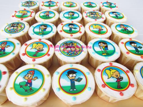 Birthday Cupcake Edible Image CashVille Kidz